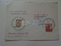 ZA279.21 Austria Cover - Brief - Sonderstempel  Ice Hockey - Eishockey Club Kitzbühel  KEC 1961 - 1945-.... 2ème République