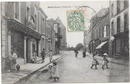 53 AMBRIERES - Rue De L'Eglise - Animée - Ambrieres Les Vallees