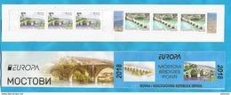 2018  EUROPA  CEPT BRIDGES  Typ  I I   BOSNIA HERZEGOWINA REPUBLIKA SRPSKA MNH - 2018
