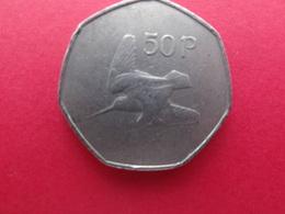 Irlande  50 Pence 1970  Km 24 - Ierland