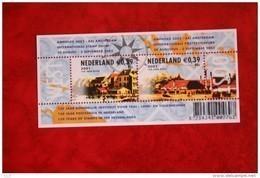 Blok AMPHILEX 2002 NVPH 2010 (Mi Block 71) 2001 POSTFRIS / MNH  NEDERLAND / NETHERLANDS - Unused Stamps