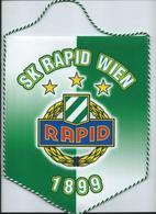 Big Flag,fanion Football,F.C.Rapid Wien,Austria - Size:20cm/25cm. - Kleding, Souvenirs & Andere