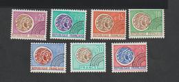 Préoblitérés   -  N°  123  à 129   -  1964 - 69  -    Série De 7 Valeurs -      Neufs   Sans Charnière  - - Préoblitérés