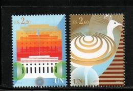 NATIONS UNIES   GENEVE 2014   NEUFs CH.    N° 866/867    N**   Composition    Valeur Faciale :  4,80 CHF - Neufs