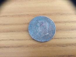Pièce Bronze 10 Centimes NAPOLEON III 1855 - D. 10 Centimes