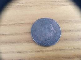 Pièce Bronze 10 Centimes NAPOLEON III 1854 - D. 10 Centimes