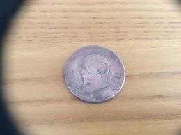 Pièce Bronze 10 Centimes NAPOLEON III 1853 - D. 10 Centimes