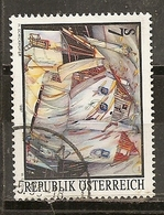 Autriche Austria 1997 Peinture Painting Obl - 1991-00 Oblitérés