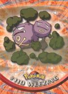 Trading Card Pokemon TV Animation Edition : # 110 Weezing - Pokemon