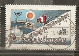 Autriche Austria 1994 Jeux Olympiques Obl - 1991-00 Oblitérés