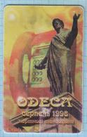 UKRAINE / ODESSA / Phonecard / Ukrtelecom / Architectural Monument. Duke Richelieu 08/1998 - Ucraina