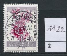 PRACHTSTEMPEL  Op Nr 1122 'Diksmuide' - Belgique