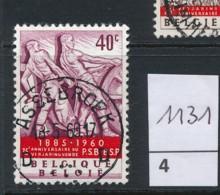 PRACHTSTEMPEL  Op Nr 1131 'Assebroek' - Belgique