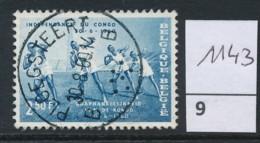 PRACHTSTEMPEL  Op Nr 1143 'Ploegsteert' - Belgique
