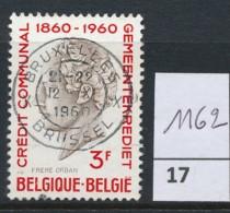 PRACHTSTEMPEL  Op Nr 1162 'BXL' - Belgique