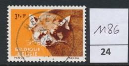 PRACHTSTEMPEL  Op Nr 1186 'Nevele' - Belgique