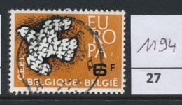 PRACHTSTEMPEL  Op Nr 1194 'Brugge' - Belgique
