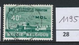 PRACHTSTEMPEL  Op Nr 1195 'Klemskerke' - Belgique