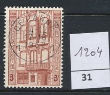PRACHTSTEMPEL  Op Nr 1204 'De Panne' - Belgique