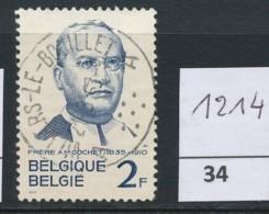 PRACHTSTEMPEL  Op Nr 1214 'Villers-le-Bouillet' - Belgique