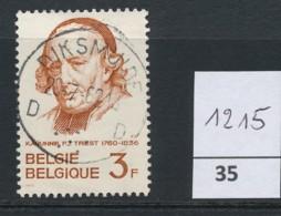 PRACHTSTEMPEL  Op Nr 1215 'Diksmuide' - Belgique