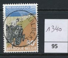PRACHTSTEMPEL  Op Nr 1340 'Aalbeke' - Belgique