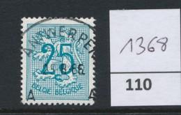PRACHTSTEMPEL  Op Nr 1368 'Antwerpen' - Belgique
