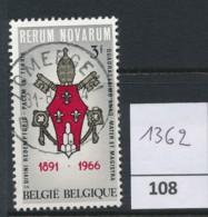 PRACHTSTEMPEL  Op Nr 1362 'Zomergem' - Belgique