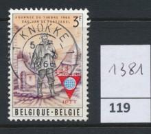 PRACHTSTEMPEL  Op Nr 1381 'Knokke' - Gebruikt