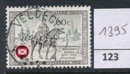 PRACHTSTEMPEL  Op Nr 1395 'Veldegem' - Belgique
