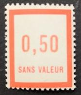 France Fictif N° F12 N** Luxe Gomme D'origine Sans Charnière, TTB. Cote 2020 : 4,00 E - Fictifs