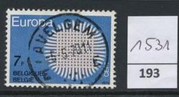 PRACHTSTEMPEL  Op Nr 1531 'Avelgem' - Belgique