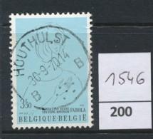 PRACHTSTEMPEL  Op Nr 1546 'Houthulst' - Belgique
