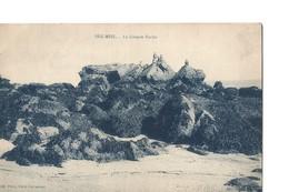 BEG MEIL (Finistère), La Grande Roche, Rare Vue Avec Belle Animation - Beg Meil