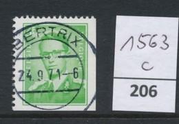 PRACHTSTEMPEL  Op Nr 1563c 'Bertrix' - Belgique