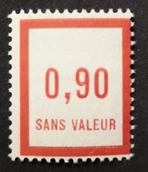France Fictif N° F15 N* Gomme D'origine Avec Trace De Charnière, TTB. Cote 2020 : 4,80 E - Fictifs