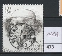 PRACHTSTEMPEL  Op Nr 1491 'Elsene' - Belgique