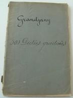 Cahier Notes Musiques Grandjany 500 Dictées Graduées 98777H - Música & Instrumentos