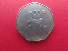 Irlande  50 Pence 1996  Km 24 - Ierland
