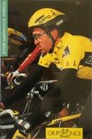 Postcard Aitor Garmendia Arbilla - ONCE  - 1996 - Ciclismo