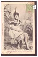 NOUVELLES HEBRIDES ( VANUATU ) - ILE D'AOBA - FEMME EN COSTUME DE FETE - TB - Vanuatu