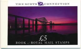 Scotland Mi MH 1 ** MNH - The Scots Connection Prestige Booklet - Libretti