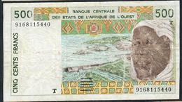 W.A.S. P810Ta 500 FRANCS (19)91 FIRST DATE FINE NO P.h. - Westafrikanischer Staaten