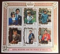 Penrhyn 1981 Royal Wedding Minisheet MNH - Penrhyn