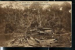 Carte Illustrée Neuve N° 19.  Vue 35.: Mines D'or -  Dragage D'une Rivière. - Entiers Postaux
