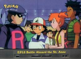 Trading Card Pokemon TV Animation Edition : EP15 Battle Aboard The St. Anne - Pokemon