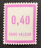 France Fictif N° F32 N** Luxe Gomme D'origine Sans Charnière, TTB. Cote 2020 : 2,00 E - Fictie