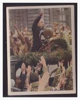 """DT- Reich (004297) Propaganda Sammelbild """"Kampf Ums Dritte Reich"""" Bild 257, Reichspräsident Von Hindenburg Spricht - Germania"""