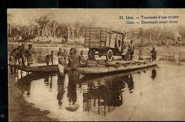 Carte Illustrée Neuve N° 19.  Vue 32.: UELE - Traversée D'une Rivière (camion) - Entiers Postaux