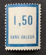 France Fictif N° F39 N** Luxe Gomme D'origine Sans Charnière, TTB. Cote 2020 : 2,00 E - Fictifs